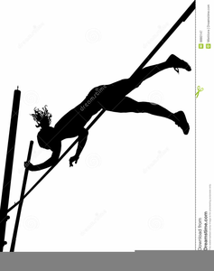 Pole vaulting clipart picture free Female Pole Vaulting Clipart | Free Images at Clker.com ... picture free