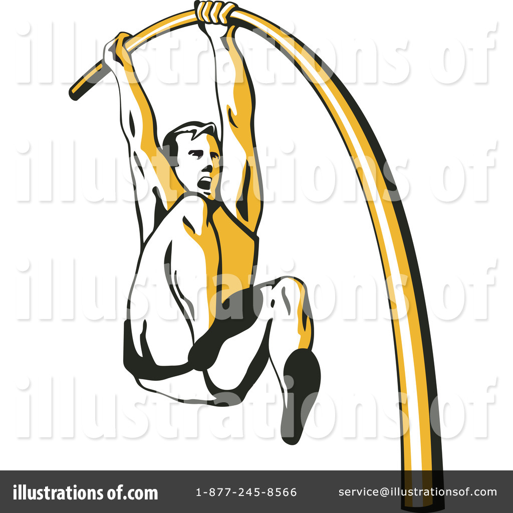 Pole vaulting clipart svg freeuse library Pole Vault Clipart #1145669 - Illustration by patrimonio svg freeuse library