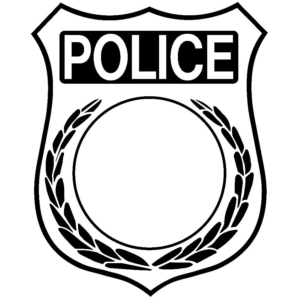 Police badge clipart free jpg library library Police Officer Badge Clipart | Clipart Panda - Free Clipart Images jpg library library