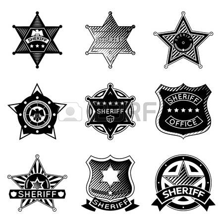 Police badge clipart vector svg library library 6,409 Police Badges Cliparts, Stock Vector And Royalty Free Police ... svg library library