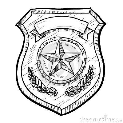 Police badge clipart vector clip art library download Dog Police Badge Clipart - Clipart Kid clip art library download