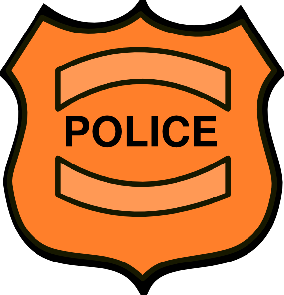 Police badge clipart vector png freeuse download Blue Police Badge Clipart - Clipart Kid png freeuse download