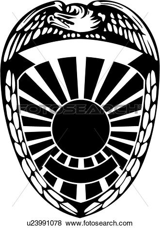 Police badge clipart vector clip transparent library Clip Art of , badge, cop, department, emergency, emergency ... clip transparent library
