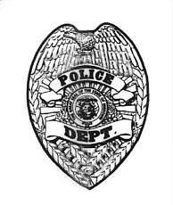 Police badge clipart vector svg freeuse stock Police badge clipart vector - ClipartFest svg freeuse stock