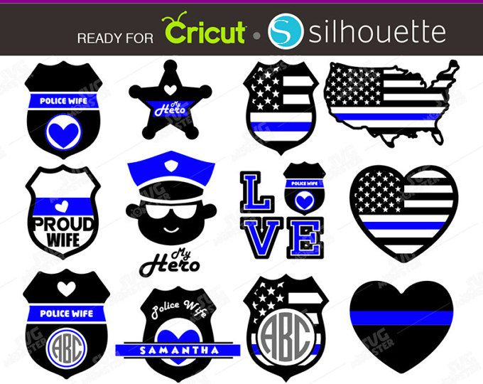 Police badge thin blue line with heart free clipart svg library download Police Wife SVG Thin Blue Line svg Police badge svg Police ... svg library download