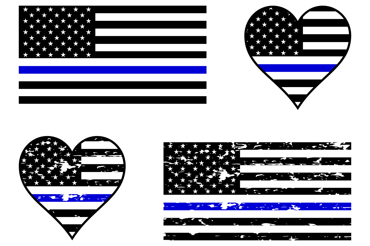 Police badge thin blue line with heart free clipart freeuse download Police Blue Line Flag SVG | Cricut stuff | Blue line flag ... freeuse download