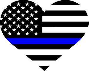 Police badge thin blue line with heart free clipart clip download Details about THIN BLUE LINE HEART clip download