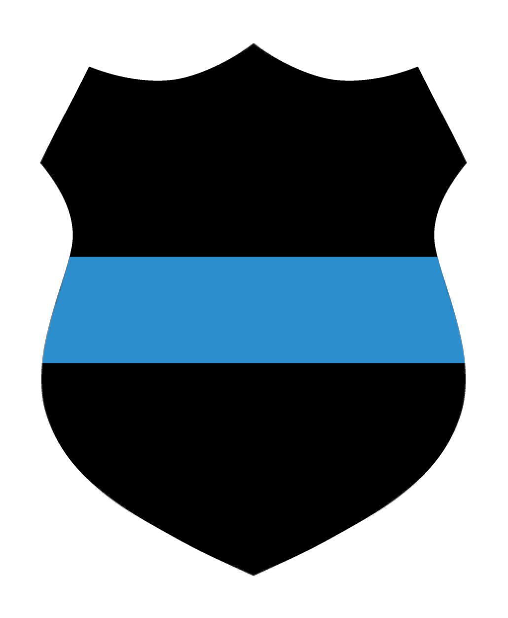 Police badge thin blue line with heart free clipart png library stock Police Shield Clipart | Free download best Police Shield ... png library stock