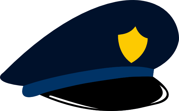 Police cap clipart clipart free Police Hat Clipart - Clipart Kid clipart free
