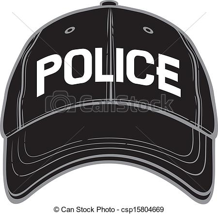 Police cap clipart clipart black and white stock Police cap Stock Illustrations. 1,829 Police cap clip art images ... clipart black and white stock