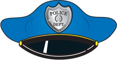 Police cap clipart graphic transparent download Police Hat Clipart - Clipart Kid graphic transparent download
