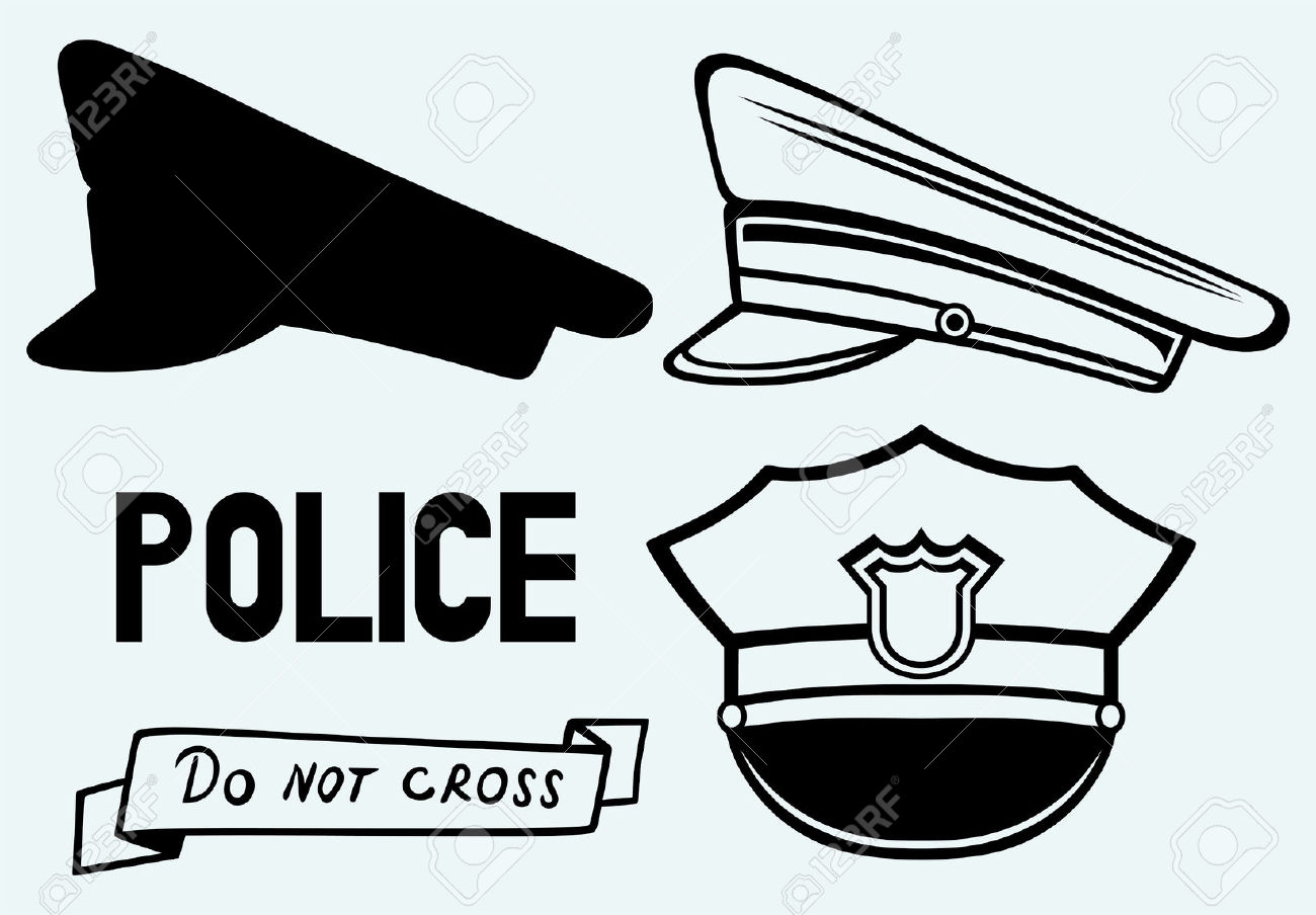 Police cap clipart picture freeuse download 3,678 Police Cap Stock Vector Illustration And Royalty Free Police ... picture freeuse download