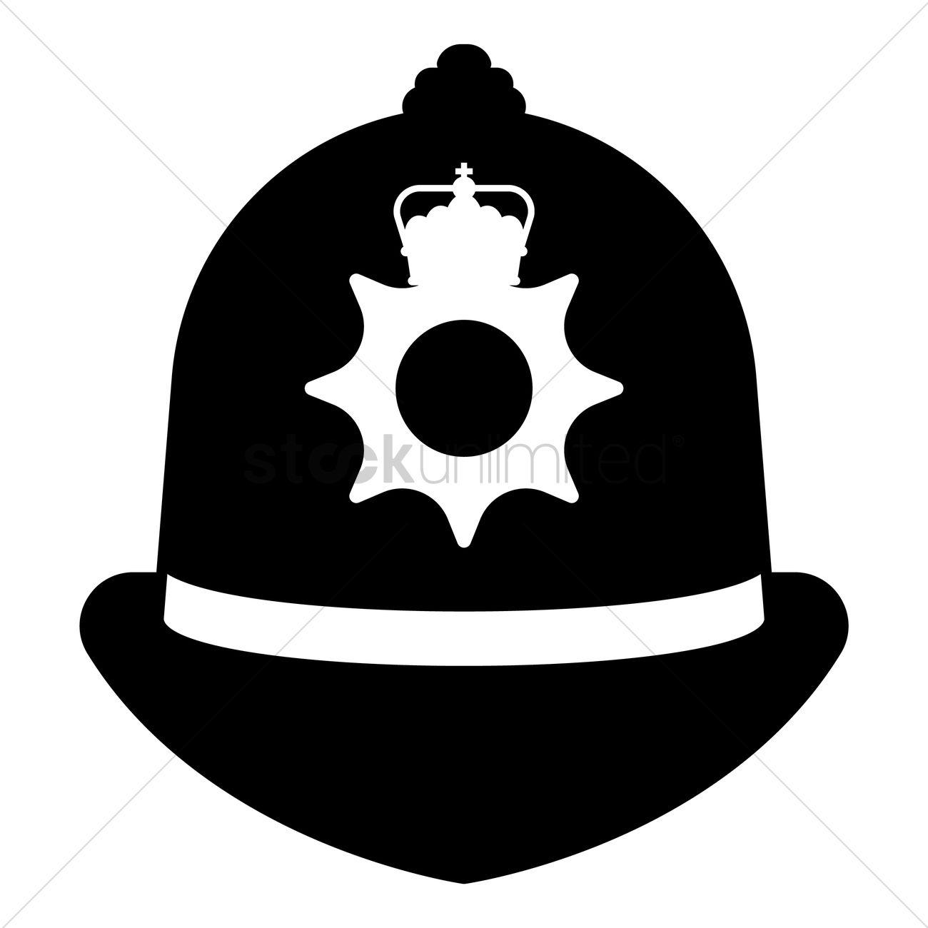 Police cap clipart jpg black and white download Uk United Kingdom Britain Britains British England Hat Hats ... jpg black and white download