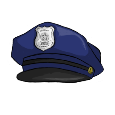 Police cap clipart graphic royalty free stock Police Hat Clipart - Clipart Kid graphic royalty free stock