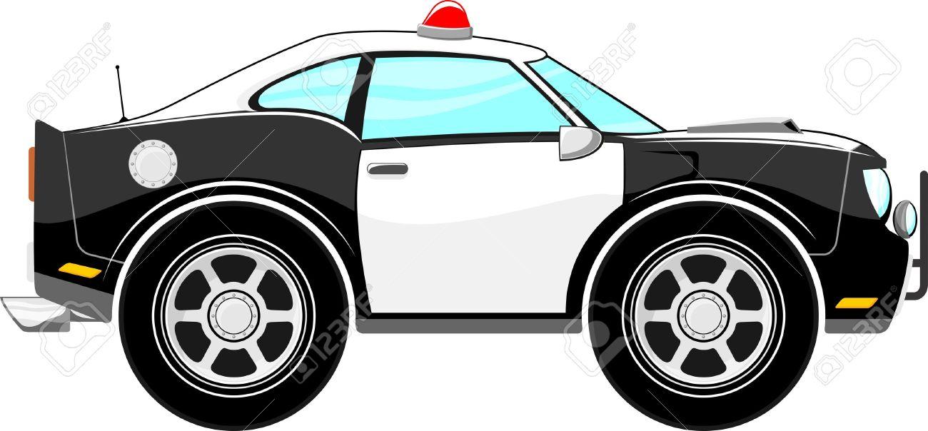 Police car cartoon clipart banner library stock Police Car Cartoon Isolated On White Background Royalty Free ... banner library stock