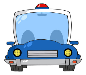 Police car cartoon clipart vector freeuse download Police car cartoon clipart - ClipartFest vector freeuse download