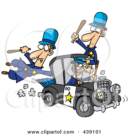 Police car cartoon clipart transparent Clipart Cartoon Police Car With A Siren Cone On The Roof - Royalty ... transparent