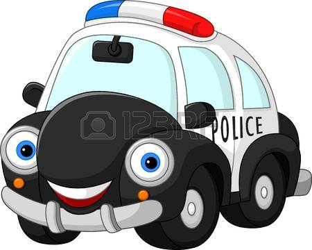 Police car cartoon clipart vector black and white Police car live clipart - ClipartFox vector black and white