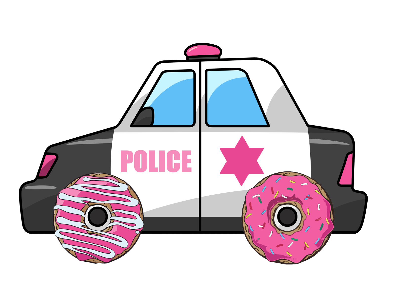 Police car cartoon clipart graphic freeuse download Police Car Cartoon - ClipArt Best graphic freeuse download