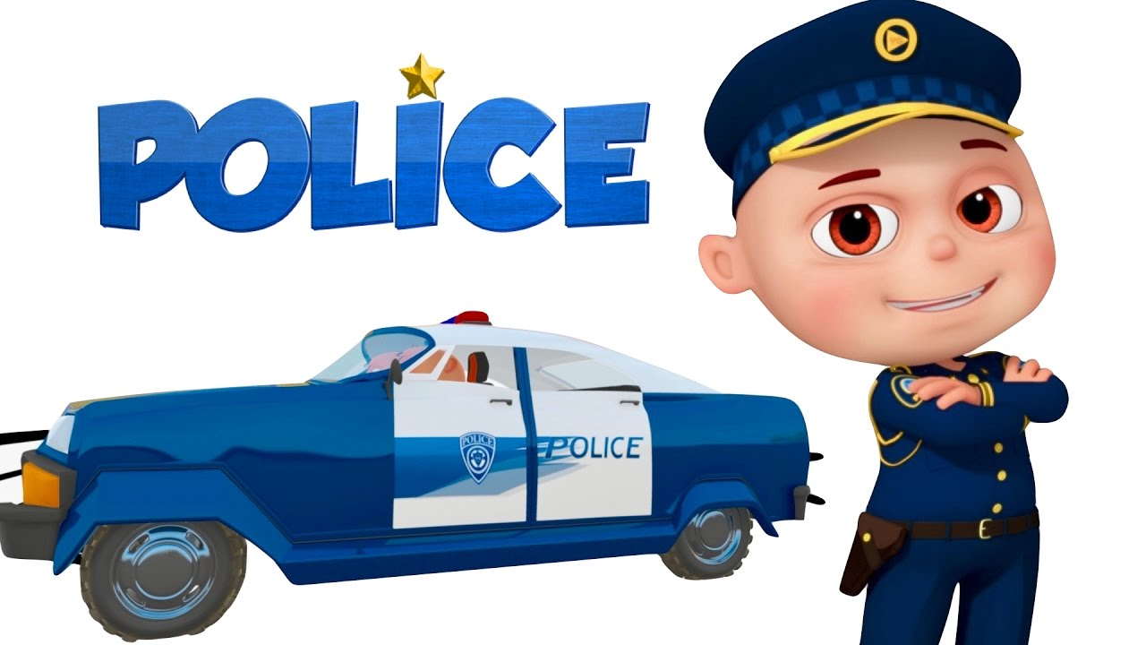 Police car chase clipart clip art free download Zool Babies As Police   Police Chase Thief   Zool Babies Cartoon ... clip art free download