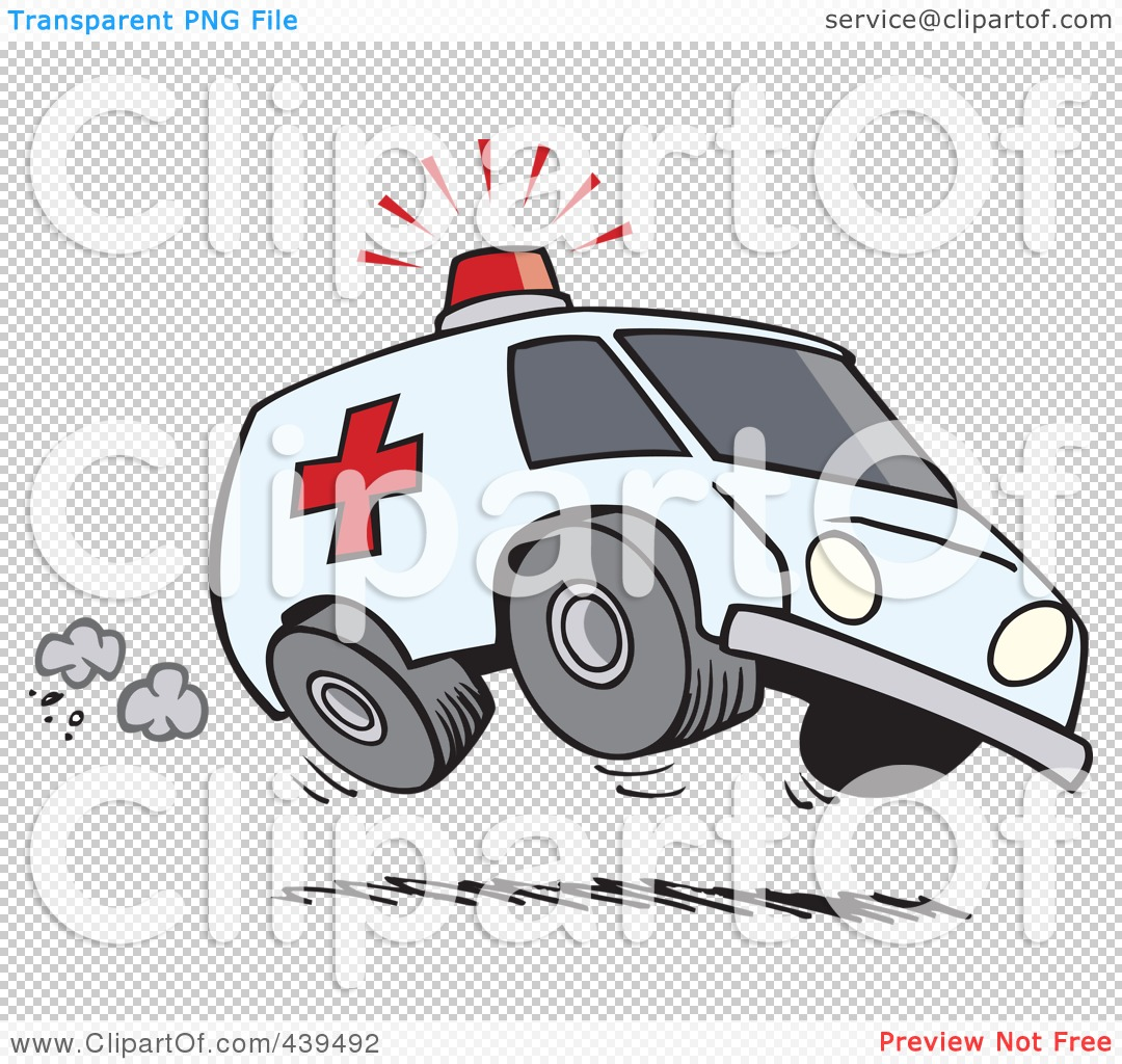 Police car clipart clear background png black and white stock Royalty-Free (RF) Clip Art Illustration of a Cartoon Speeding ... png black and white stock