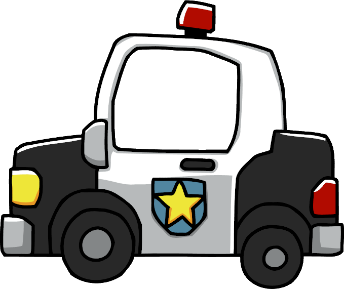 Police car clipart png freeuse library Image - Police Car.png | Scribblenauts Wiki | FANDOM powered by Wikia freeuse library