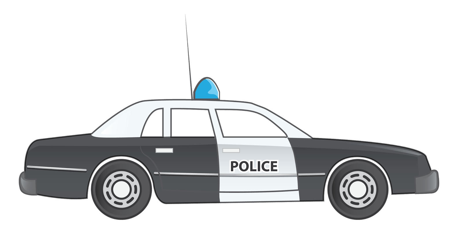 Police car clipart transparent background graphic Car Black And White Clip Art Images Free Download - Wallpaper HD Images graphic