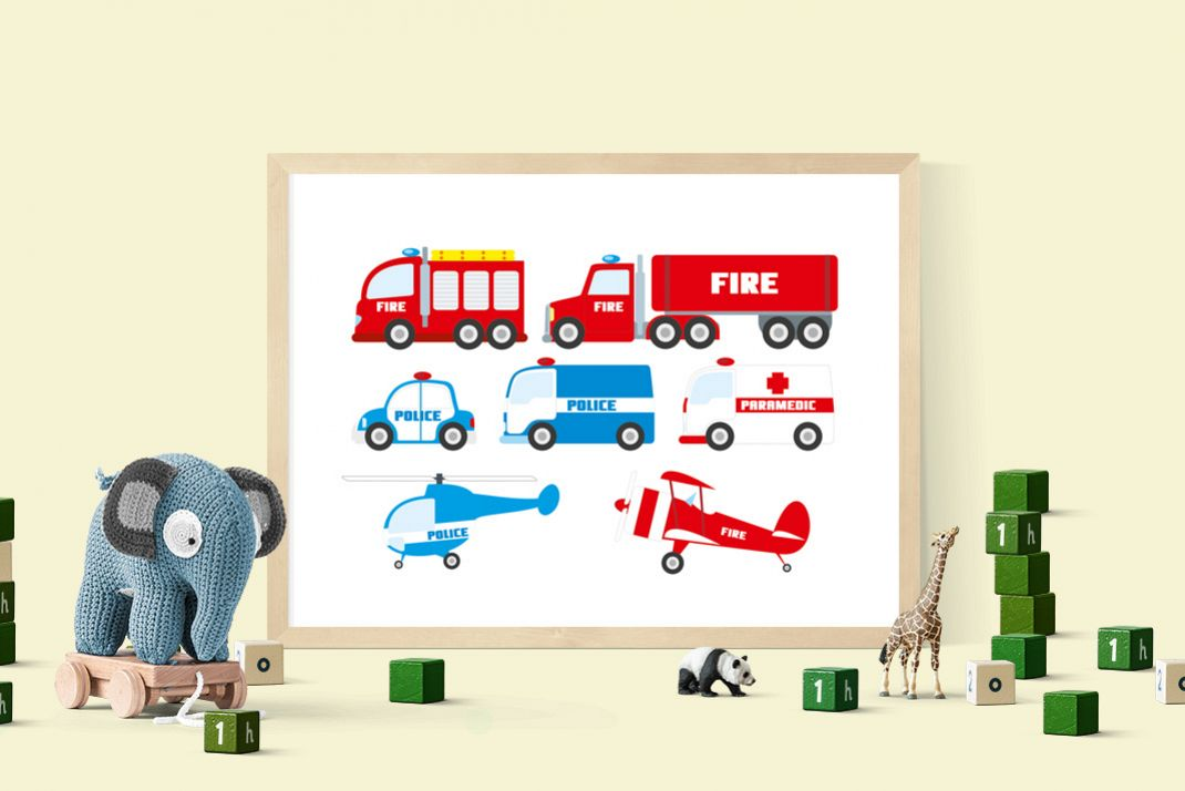 Police car fire truck and ambulance clipart picture library download Rescue clipart emergency clipart set police car clipart, fire truck, police  helicopter, fire brigade, fire engine download, ambulance picture library download