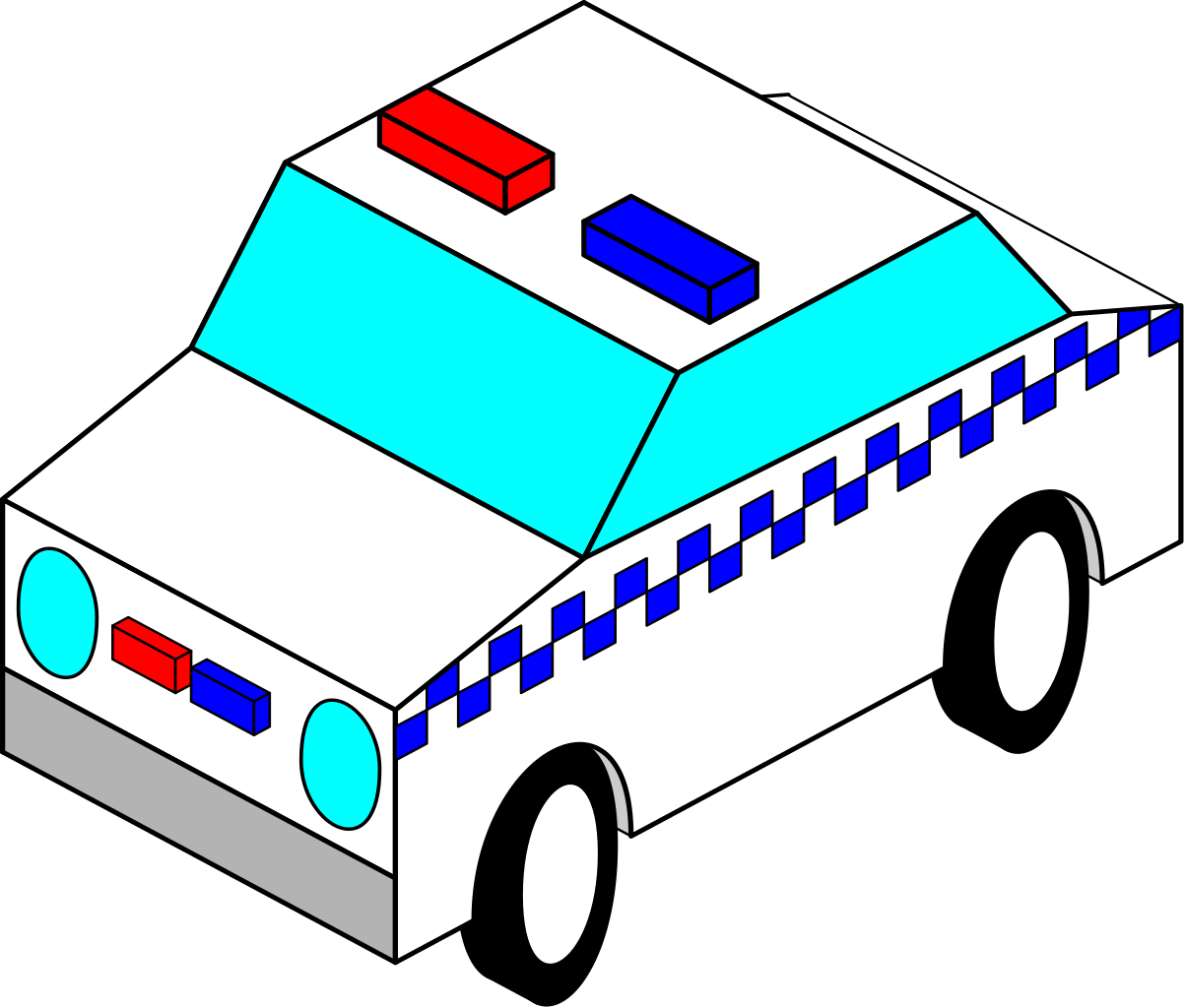 Police car front clipart clip art royalty free stock File:Police Car.svg - Wikimedia Commons clip art royalty free stock