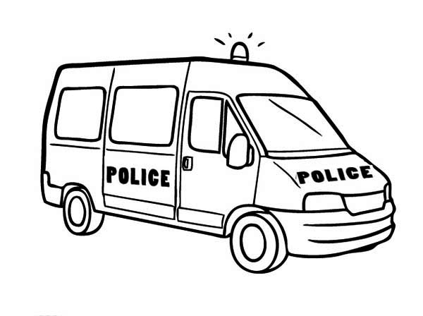 Police car kids clipart black and white download Car Coloring Page Clipart - Clipart Kid black and white download