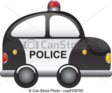 Police car lights clipart svg freeuse Police car Stock Illustrations. 4,428 Police car clip art images ... svg freeuse