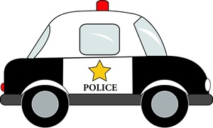 Police car lights clipart clipart transparent library Cartoon Police Car Clipart clipart transparent library