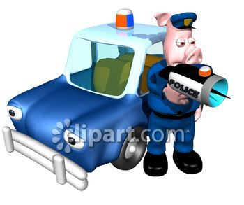 Police car radar clipart vector transparent stock Police Radar Clip Art – Clipart Free Download vector transparent stock