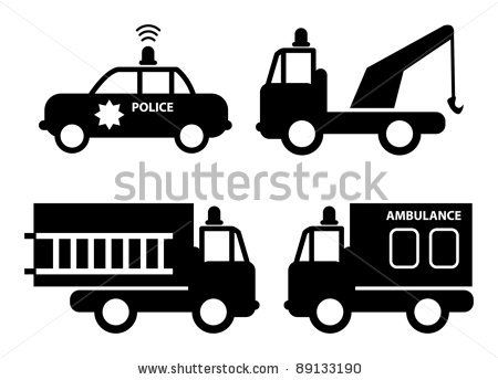 Police car radar clipart png transparent library Police car being towed clipart - ClipartFest png transparent library