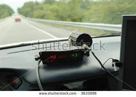 Police car radar clipart vector transparent library Police Radar Stock Images, Royalty-Free Images & Vectors ... vector transparent library
