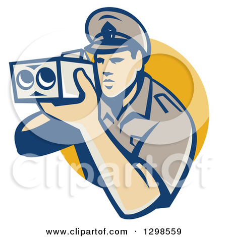 Police car radar clipart jpg freeuse stock Royalty-Free (RF) Police Clipart, Illustrations, Vector Graphics #1 jpg freeuse stock