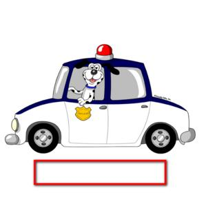 Police car snow clipart image free download Friendly Folks - Printed Perfection Personalized Snow Globe ... image free download