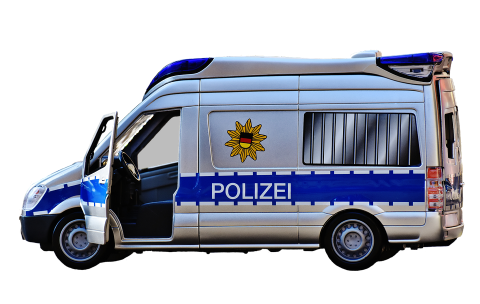 Police car with lights on clipart vector black and white library Blue Police Car PNG Transparent Blue Police Car.PNG Images. | PlusPNG vector black and white library