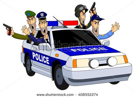 Police chase clipart jpg transparent library High speed car chase clipart - ClipartFest jpg transparent library