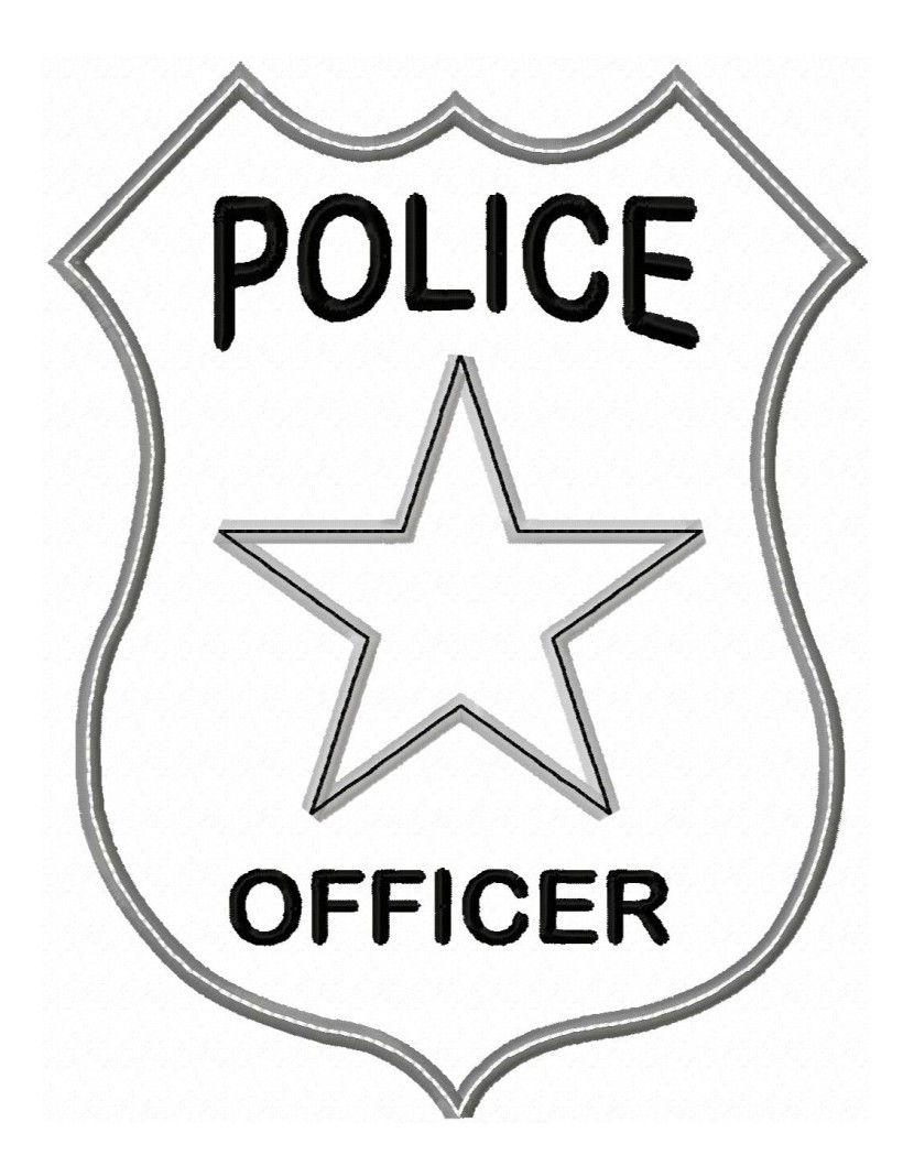 Police clipart vector royalty free library Police Badge Clipart & Police Badge Clip Art Images - ClipartALL.com vector royalty free library