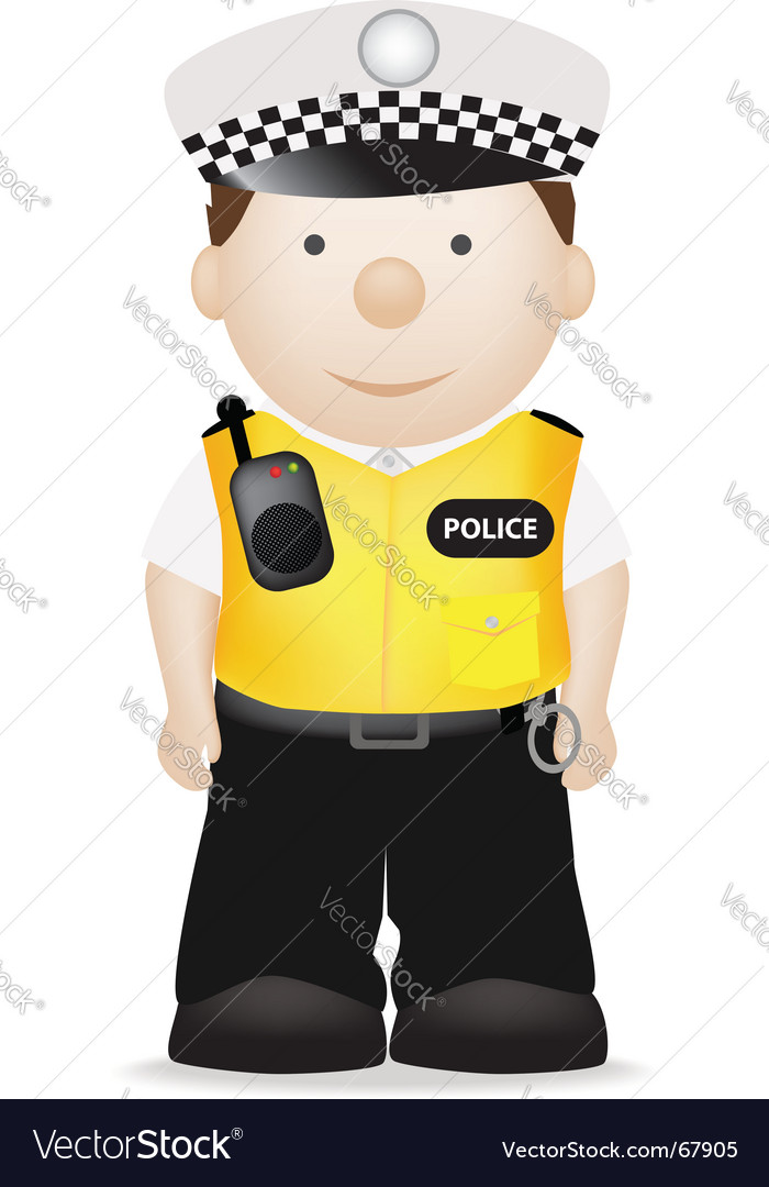 Police clipart uk vector free library Uk traffic police officer Vector Image by joingate - Image #67905 ... vector free library