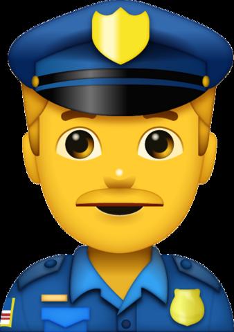 Police emoji clipart jpg transparent library Police Man Emoji | Iphone Emoji, Apple Emoji, Emoji Faces ... jpg transparent library