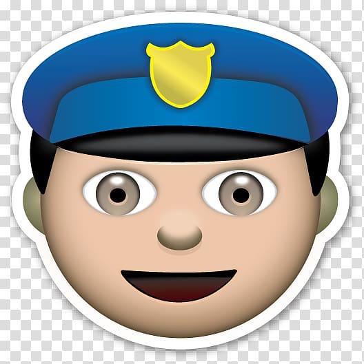 Police emoji clipart graphic transparent library The Emoji Movie Police officer Sticker, policeman ... graphic transparent library