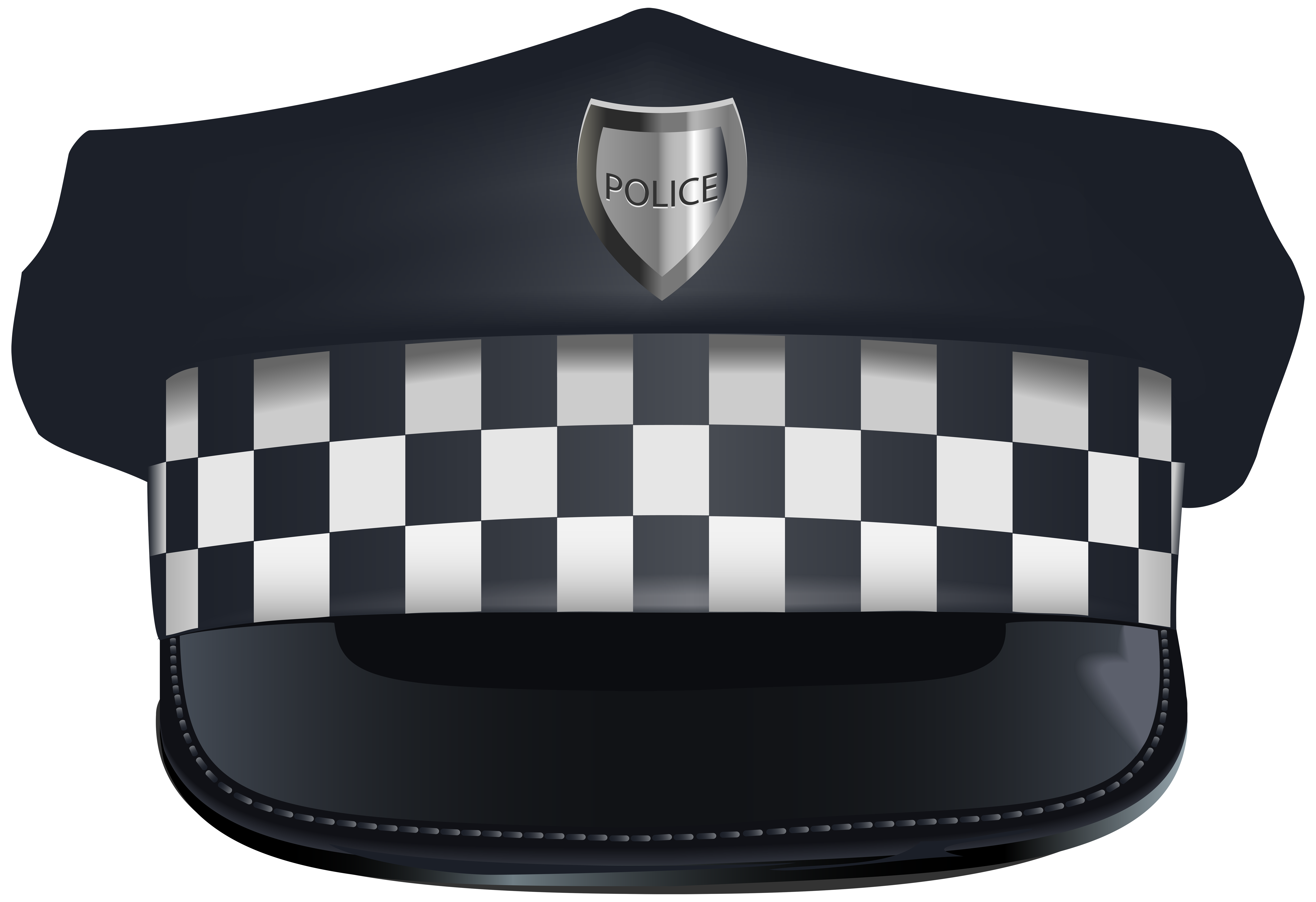 Police hat clipart clip freeuse stock Police Hat PNG Clip Art Image clip freeuse stock