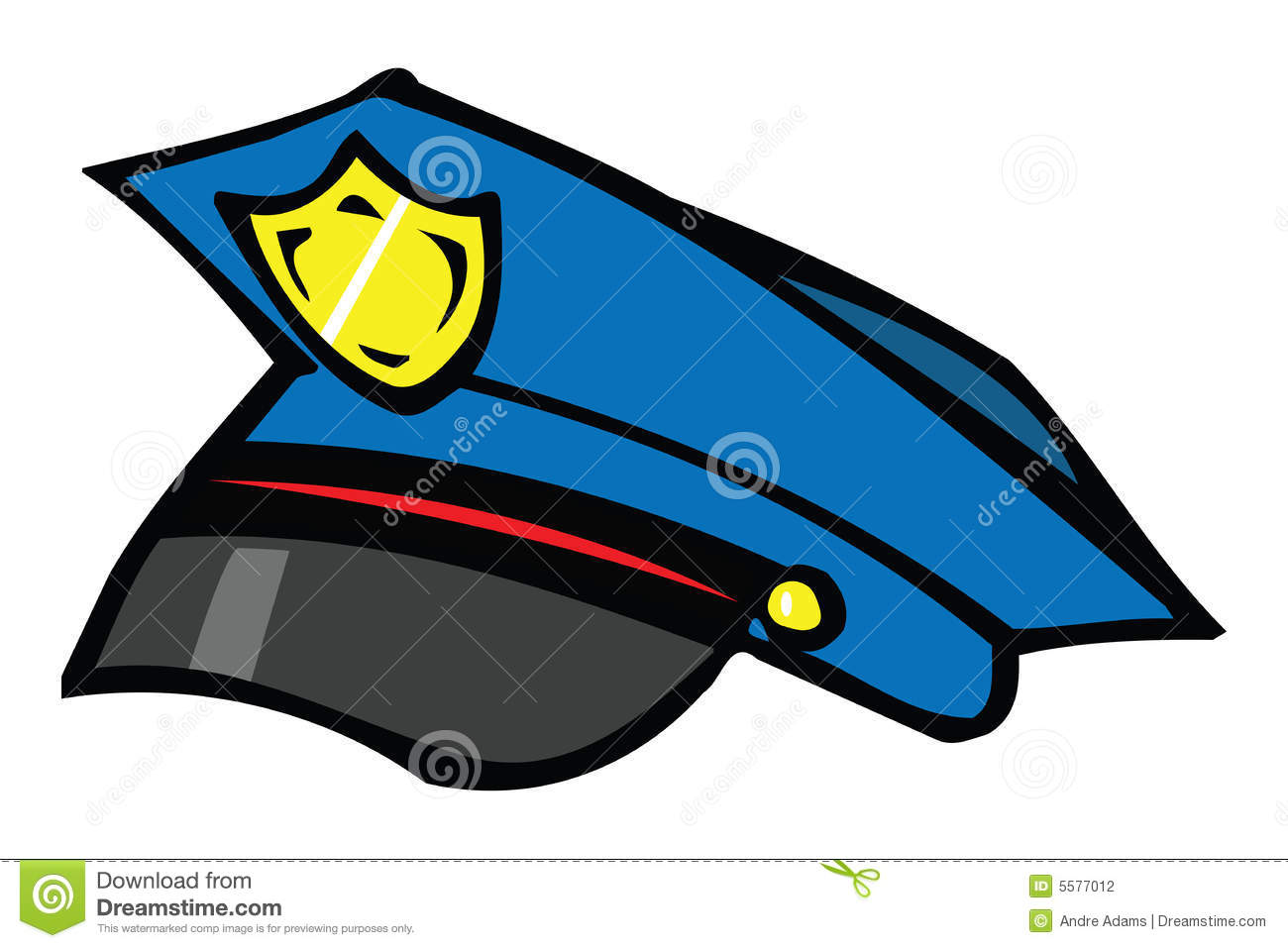 Police hat clipart jpg library library Police Hat Clipart - Clipart Kid jpg library library