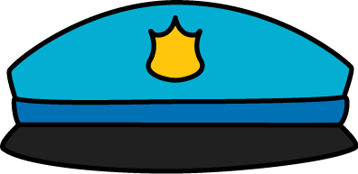 Police hat clipart clip art free stock Police Hat Clip Art - Police Hat Image clip art free stock
