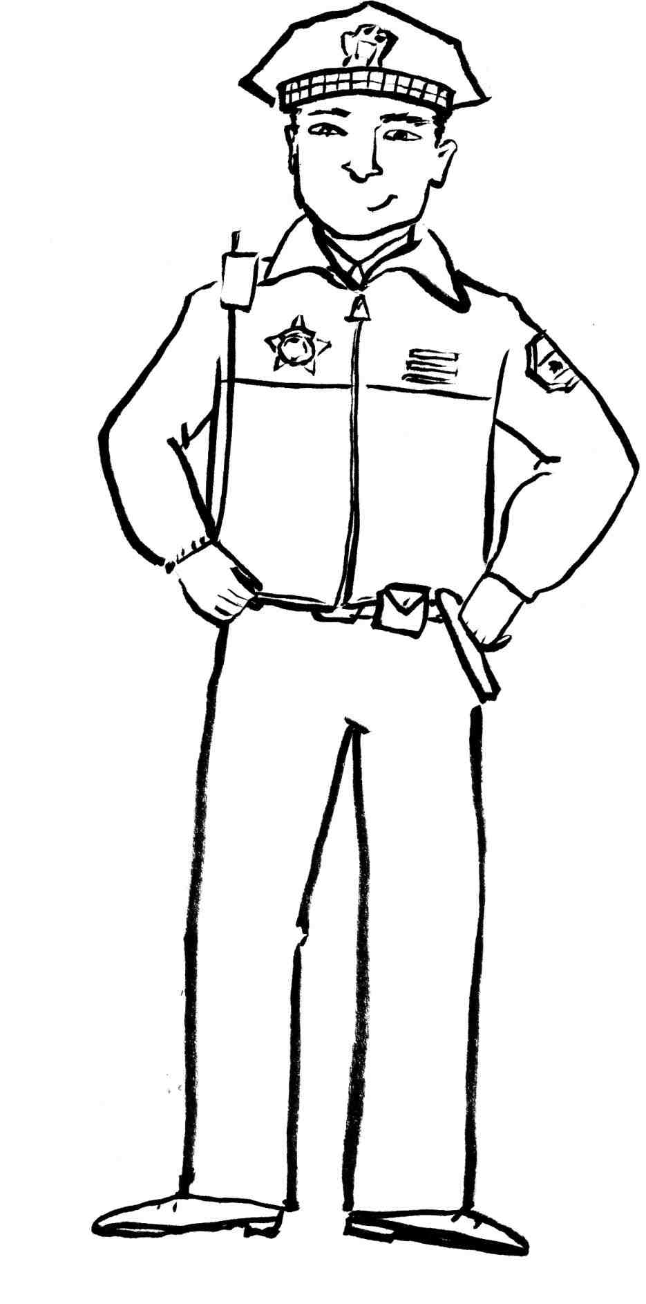Police office clipart black and white clipart Police Badge Clipart Black And White | Free download best ... clipart