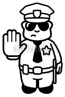 Police office clipart black and white graphic freeuse library Police Officer Clipart Black And White | Clipart Panda ... graphic freeuse library