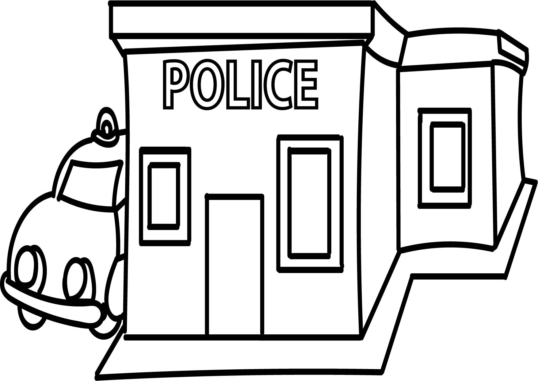 Police office clipart black and white vector freeuse stock Police Clipart Black And White | Free download best Police ... vector freeuse stock