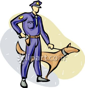 Police officer and dog clipart black and white library 1000+ images about Police K9 on Pinterest | Cancer, Bulldog ... black and white library